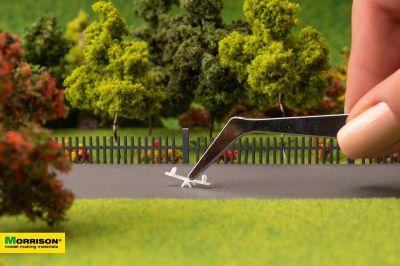 Качели-балансир для макета детской площадки в масштабе 1:300