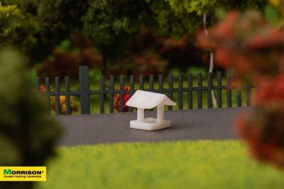 Песочница для макета детской площадки в масштабе 1:300