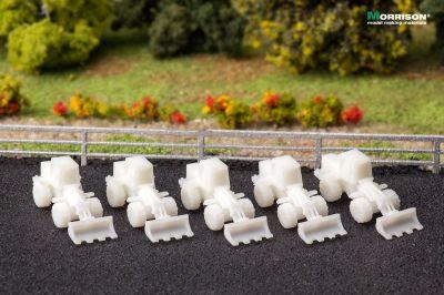 Погрузчики для макетов в масштабе 1:250 (Набор 5 шт.)