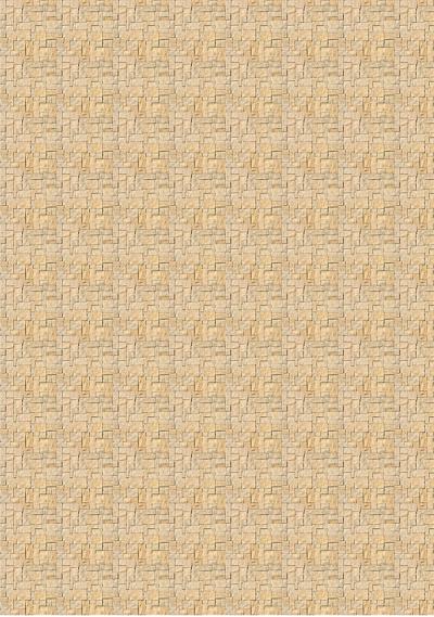 Текстура бежевого декоративного камня для макетов. Лист А4.