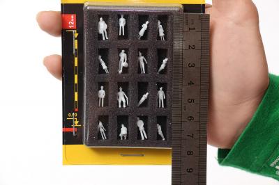 Фигурки людей для макета М1:150 (Набор 16 шт.)