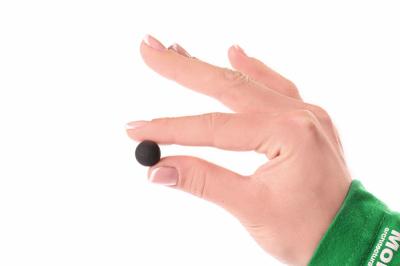 Черные шарики для макета. Набор 40 штук.