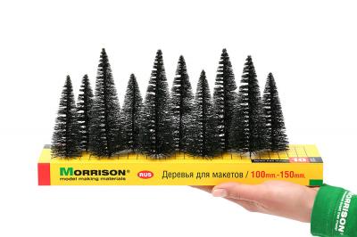 Набор хвойных деревьев 10 шт. h=10-15см.