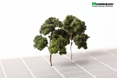Универсальное дерево для архитектурного макета. Высота 5-7 см.