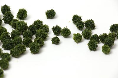 Антуражные шарики для макета темно-зеленые. 20шт.