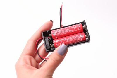Батарейный бокс 2хАА