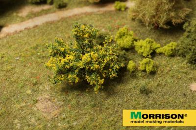 Желтый куст для макета