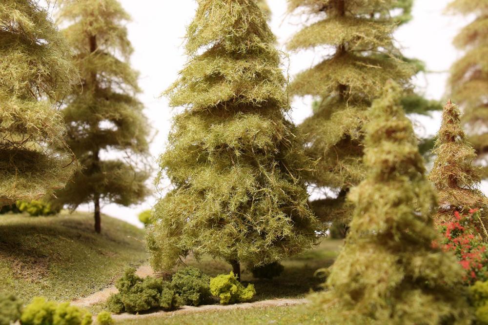 Как сделать макет леса своими руками фото 765