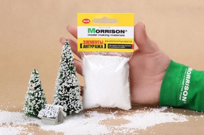 Снег для макета
