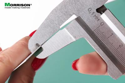 Модельный пластик ПВХ 0,5 мм. (лист 20х30см.)