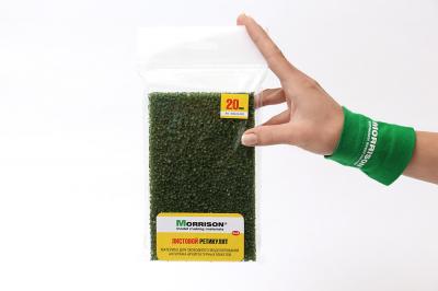 Листовой ретикулят темно-зеленый 20мм.