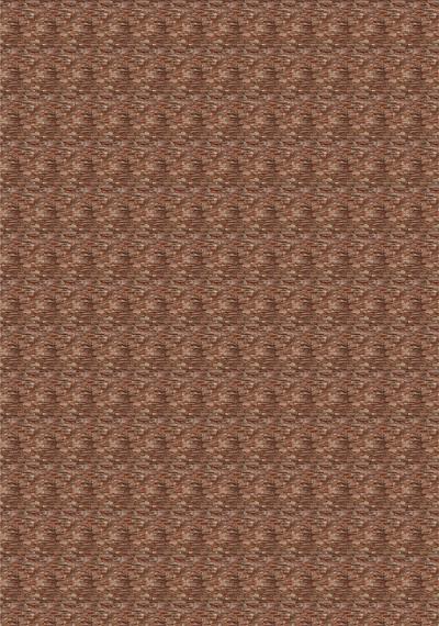 Текстура коричневого декоративного кирпича для макетов.