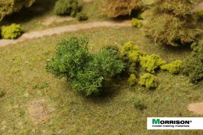 Зеленый куст для макетов и диорам