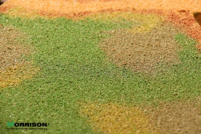 Имитация травы на макете «Яркая трава»