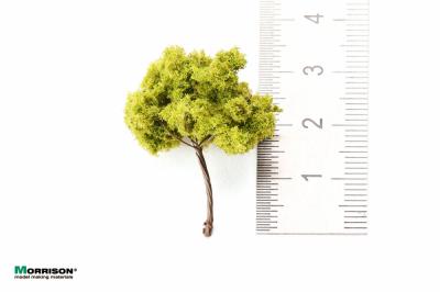 Дерево для архитектурного макета 3 см. Светлая крона.