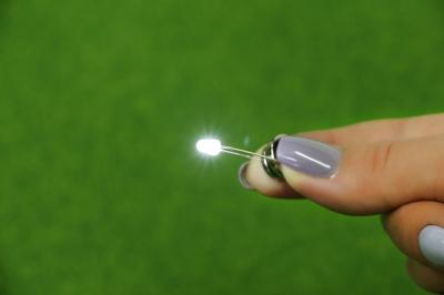 Белые 3 мм. светодиоды для внутренней подсветки (Набор 10 шт.)