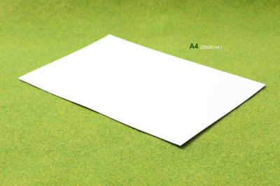 Модельный пластик ПВХ 1мм. (лист 20х30см.)
