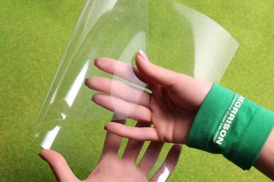 Рулонная прозрачная плёнка для окон (ширина 50см.), м./пог.