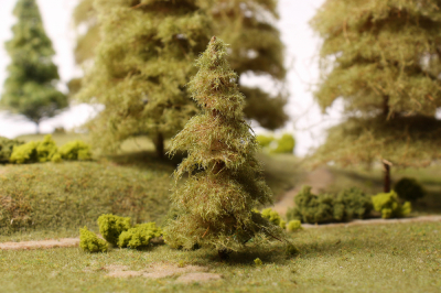 Дремучая ель для макета леса 10см.