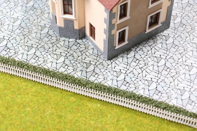 Текстура каменного мощения для объемных макетов.
