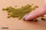 Электростатическая трава для флокатора «Жухлая зелень» 3 мм.