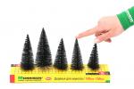 5шт. Набор хвойных деревьев 10-15см.
