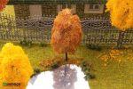 10 см. Осеннее дерево для макета