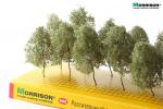 Деревья для макета «Реалистичная крона». Набор 10 шт.