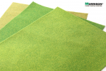 Травяной мат «Солнечная зелень» (А3 - 29х40 см.)