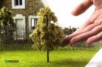 Листва для макета дерева. (Набор 4 шт. 9х15 см.)