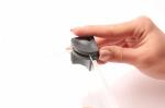Черный пластиковый уголок для сборки защитного стекла макетов