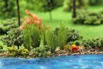 Высокие пучки травы