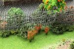 """Цветущие растения для диорамы """"Красные соцветия""""."""