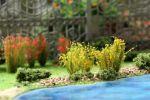 """Цветущие растения для диорамы """"Жёлтые соцветия""""."""