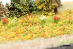 """Цветочная присыпка для макета """"Красно-жёлтые цветы"""""""