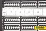 Ажурный забор для макета Н=1см./ L=114cм.