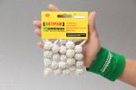 Поролоновые шарики белые. 20шт. 15-20мм.