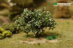 Белый цветущий кустарник для макета ландшафта