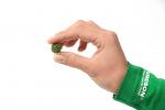 Поролоновые шарики темно-зеленые. 20шт. 10-13мм.