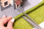 Живая изгородь светло-зеленая 2 шт. (10x10 мм.)