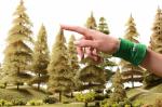 Дремучая ель для макета леса своими руками 20 см.