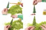 Фолиаж ретикулированный (имитация листвы цв. Береза)
