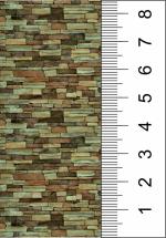Текстура фасадного камня для макета.
