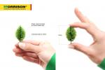 Универсальные деревья для макетов. Набор 20 шт.