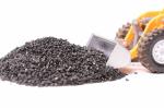 Имитация угля для макетов и диорам