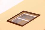 Прозрачная плёнка ПВХ для окон (лист 25х30см.)