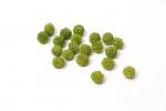 Поролоновые шарики светло-зеленые. 20шт. 15-20мм.