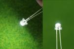 Белые 5 мм. светодиоды для внутренней подсветки (Набор 10 шт.)