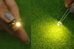 Теплые белые 5 мм. светодиоды для внутренней подсветки (Набор 10 шт.)