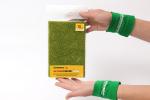 Листовой ретикулят светло-зеленый 10мм